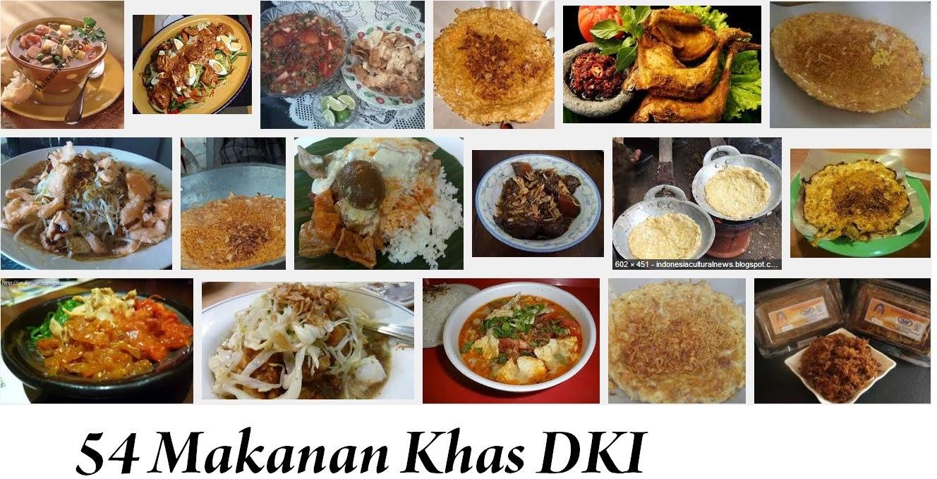 54 Makanan Khas DKI Jakarta