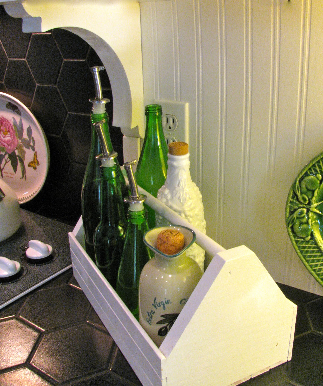 Adding Beadboard To Kitchen Cabinets: MAY DAYS: Adding Beadboard To Cabinets And Backsplash