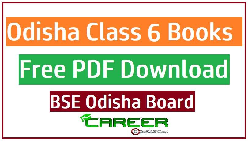 Odisha Class 6 (VI) All Books BSE Board Free PDF eBook