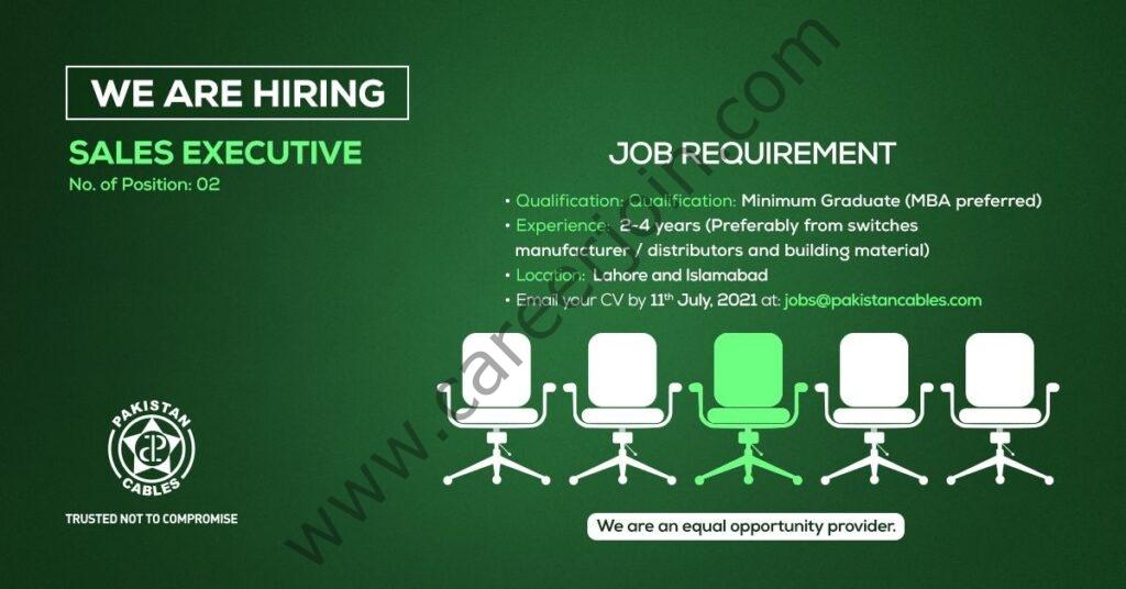 Jobs in Pakistan Cables Ltd