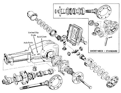 BMW 1968-74 Drive Axles Repair Manual Auto Motive Repair
