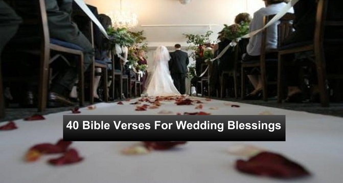 Bible Verses For Wedding Blessings