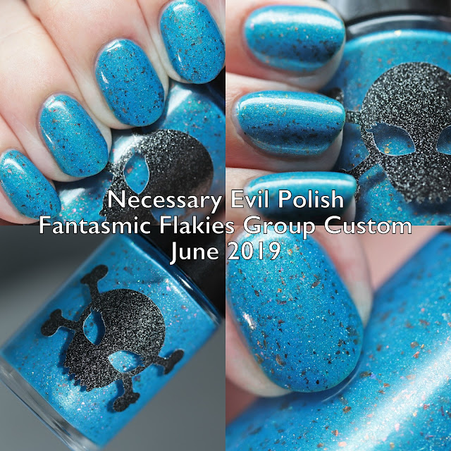 Necessary Evil Polish Fantasmic Flakies Group Custom June 2019
