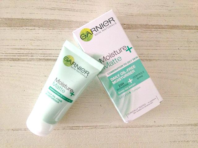 Current Skin Care Favourites | Basics | Garnier Micellar Cleansing Water | Elizabeth Arden Brightening Eye Gel | Garnier Moisture + Matte Daily Oil-Free Moisturiser