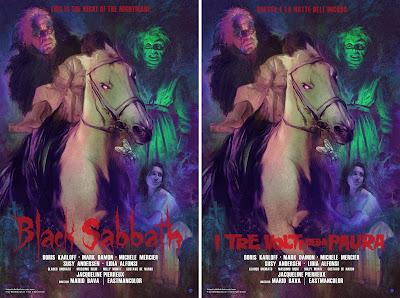 Black Sabbath Movie Poster Screen Print by Richard Hilliard x Mad Duck Posters