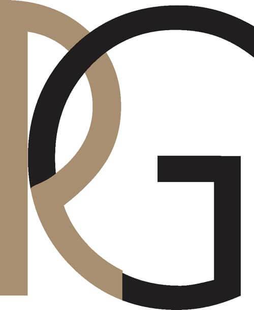 RG Alphabet Logo Design Vector