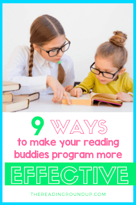 Do you want to implement a Reading Buddies program in your elementary school? Check out these must read tips to ensure a successful and effective buddy reading program with your students! #thereadingroundup #buddyreading
