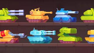 Tank Stars Game MOD Apk - All Tanks Unlocked