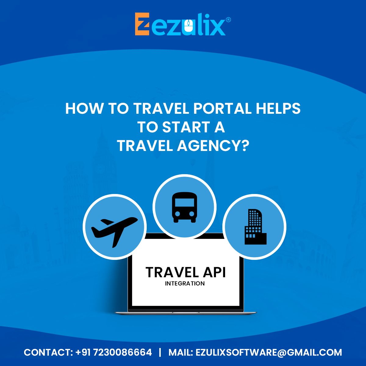Ezulix - Web Design and Mobile App Development: travel portal