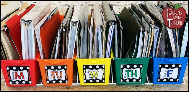 Teacher Tub Labels