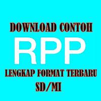 Download Contoh RPP Kelas VI SD/MI Lengkap Format Terbaru