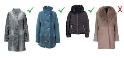 Пальто для типа фигуры треугольник