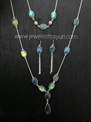 Labradorite jewelry refashion