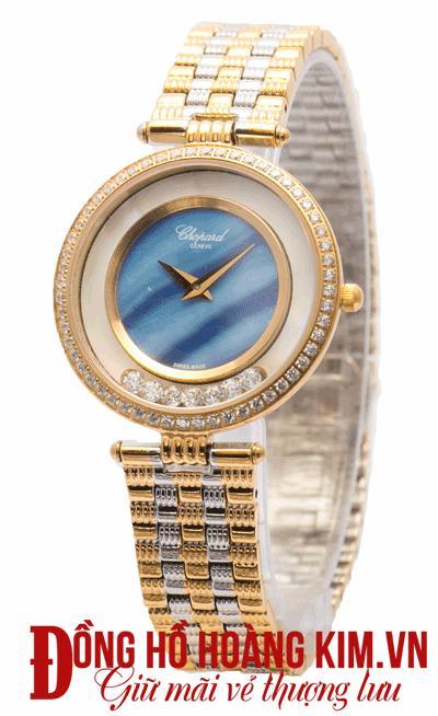bán đồng hồ nữ chopard dây sắt