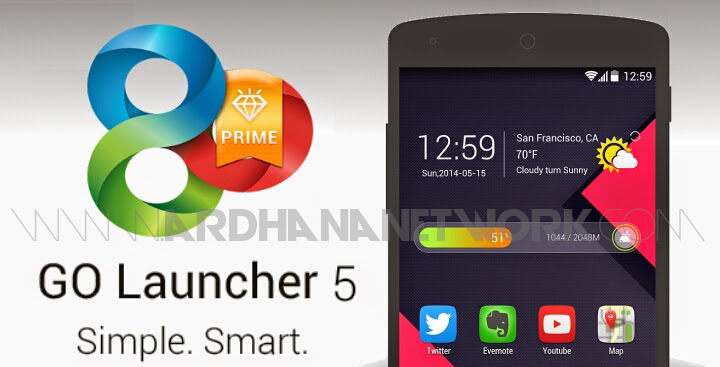 GO Launcher Z Prime v1.002 build 419 (Unlocked) Apk