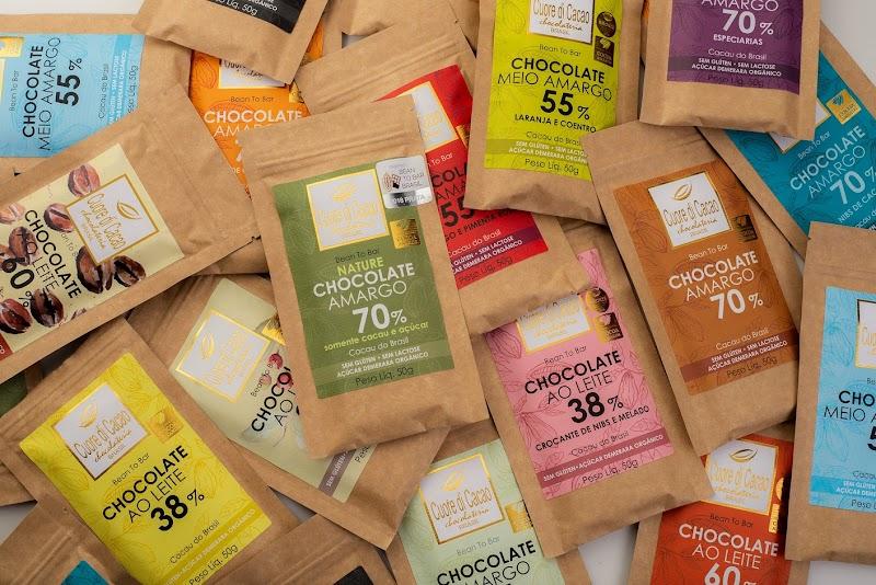 Cuore di Cacao leva chocolates Bean to Bar para supermercados