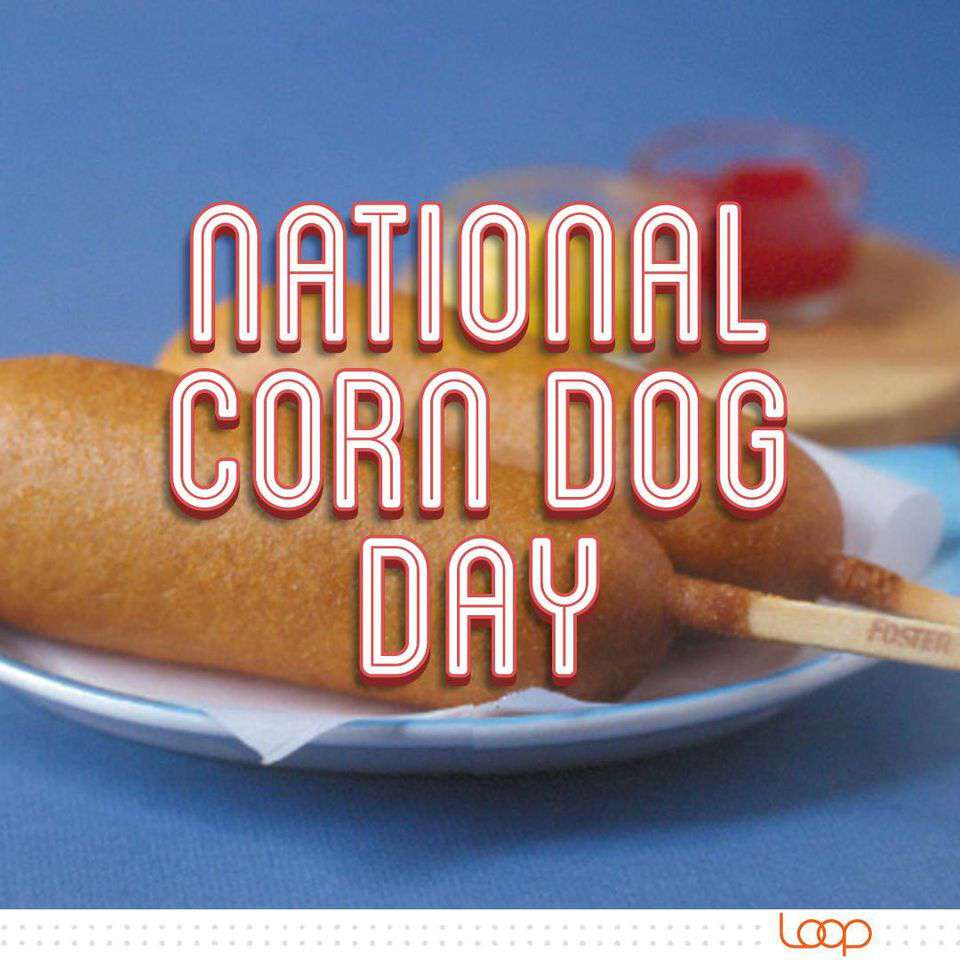National Corn Dog Day Wishes Images