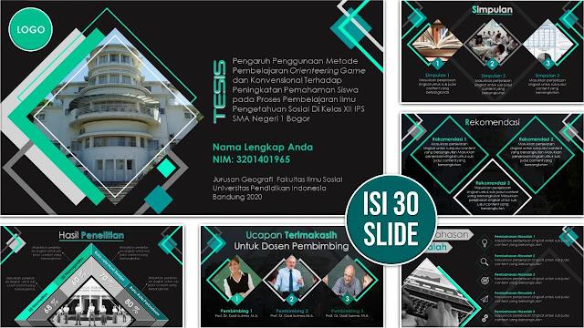 Slide PowerPoint Sidang Tesis