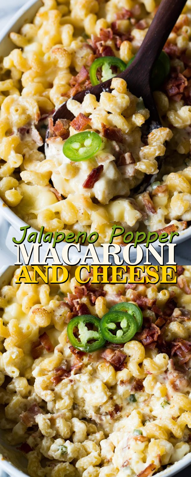 JALAPENO POPPER MACARONI AND CHEESE