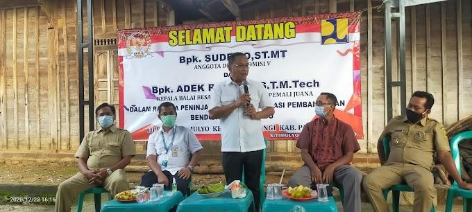 H. Sudewo DPR RI Sosialisasi Program Pembangunan Bendungan Dung Kurungan di Durensawit dan Sitimulyo