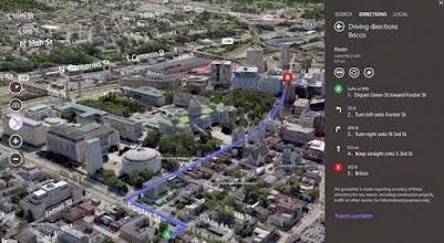 خرائط Bing تمنحك الحصول على صور 3D في نظام التشغيل Windows 8.1