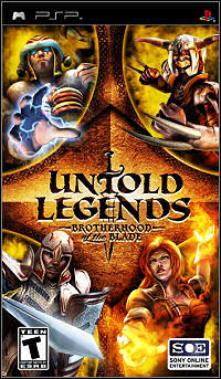 Untold Legends Brotherhood of the Blade (PSP) Español [MEGA]
