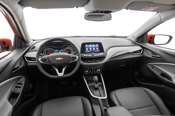 Interior Nuevo Chevrolet Onix 2020