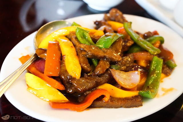 Shangri-La's Shredded Beef with Yellow Mango