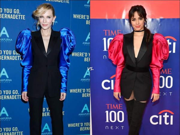 👗Cate Blanchett vs Camila Cabello