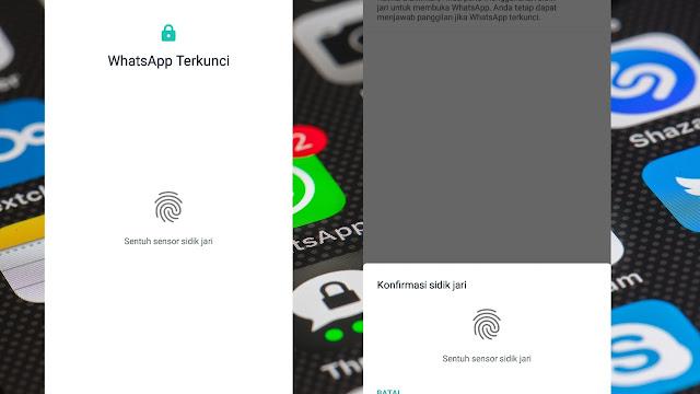 Cara Mengunci Whatsapp Dengan Sidik Jari Tanpa Aplikasi Lain