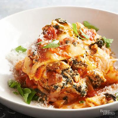 Spicy Turkey Lasagna