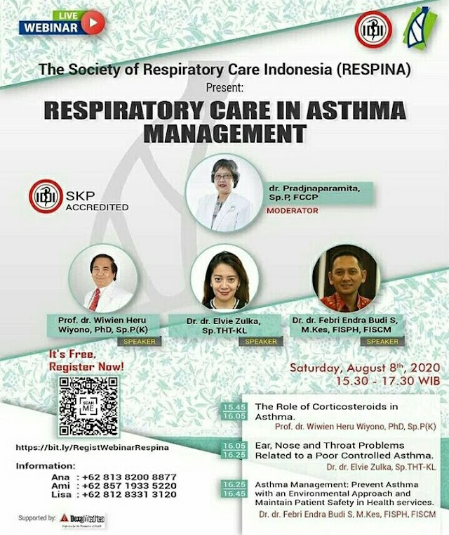 Webinar RESPINA: Respiratory Care In Asthma Managenent