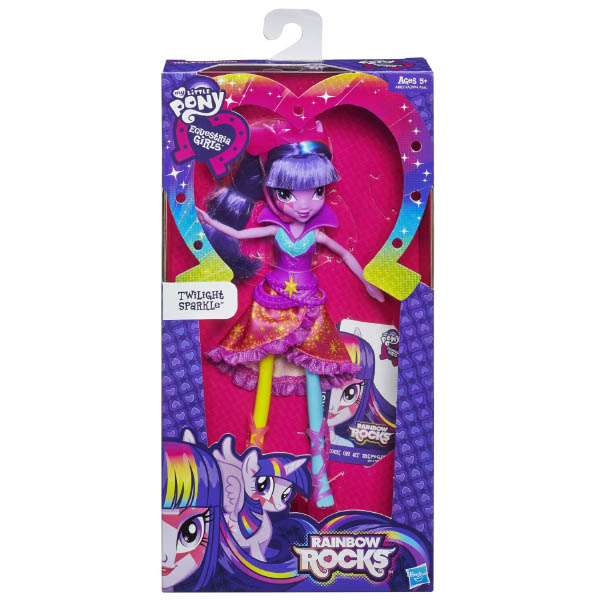 Equestria Girls Rainbow Rocks Twilight Sparkle Neon Doll