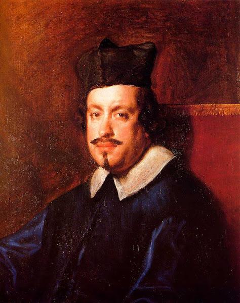 Диего Веласкес - Кардинал Камилло Массими (1650)
