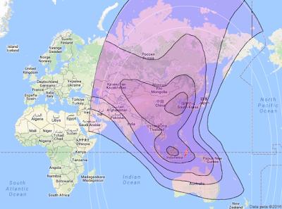 Satelit Chinasat 6A 125.0°E CBand