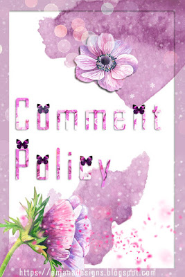 Comment Policy of https://anjanadesigns.blogspot.com