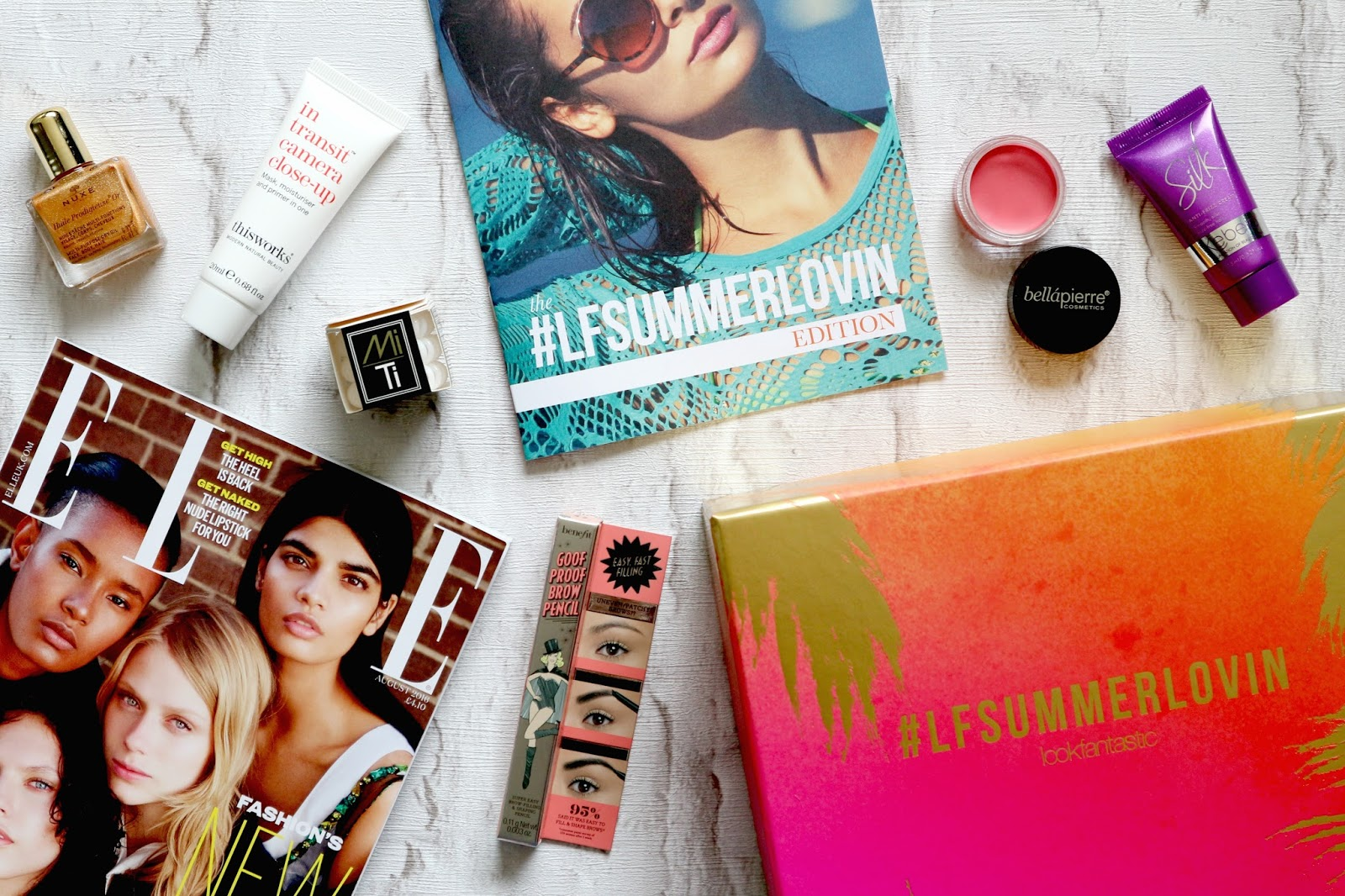 #LFSummerLovin beauty box review