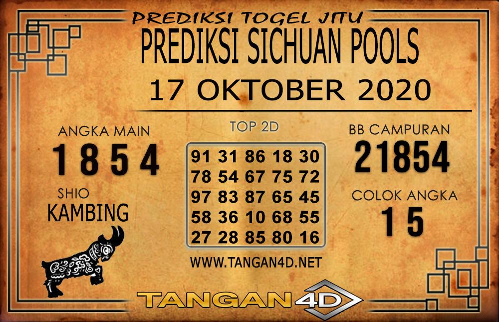 PREDIKSI TOGEL SICHUAN TANGAN4D 17 OKTOBER 2020