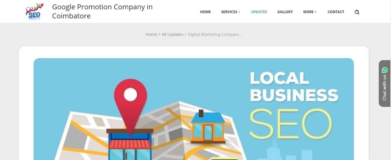 Google Promotion - Digital Marketing Company