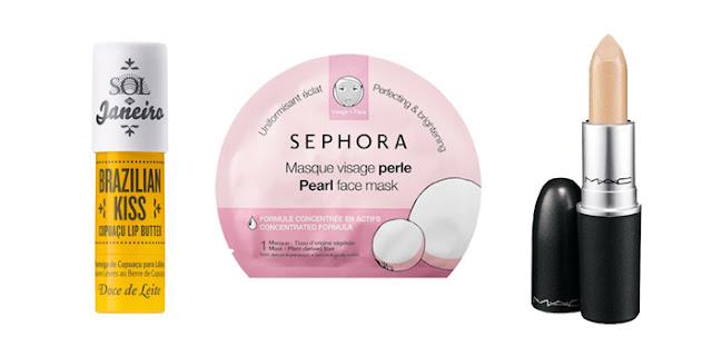 Beauty Blogger, College Bloger, Lifestyle Blogger, Brazilian Kiss Lipstick, Sephora Collection Pearl Face Mask, MAC Lipstick Tanarama