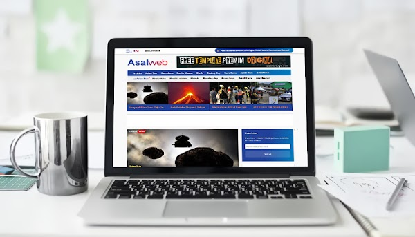 Asalweb Redesign Magazine Blogger Template