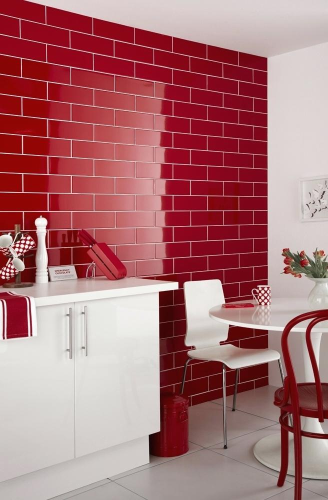 Hilarious Red Color Designs to Revolutionize Your Simple Kitchen