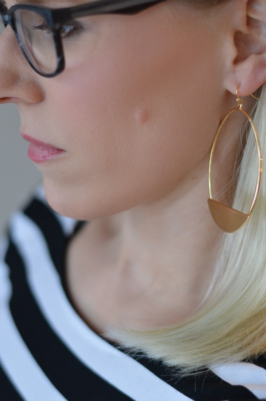 Day to Night Fashion in 1 Step- Statement Earrings | all dressed up with nothing to drink...