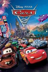 Cars 2 2011 Hindi Dubbed Dual Audio BRRip 480p 300MB