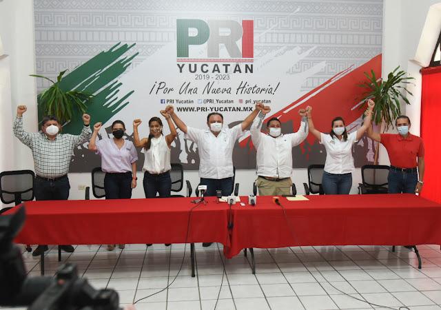 Candidatos desertores de RSP se incorporan al PRI