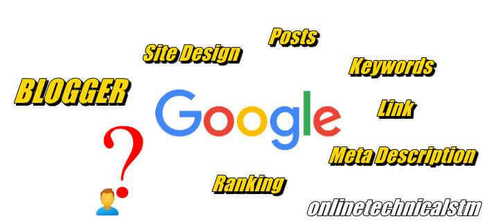 How long does it take for Blogger post to search on Google ots