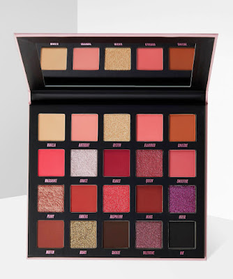 Beauty Bay new red pink palette