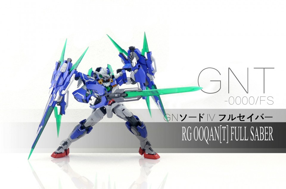 Custom Build: RG 1/144 00 Qan [T] Full Saber