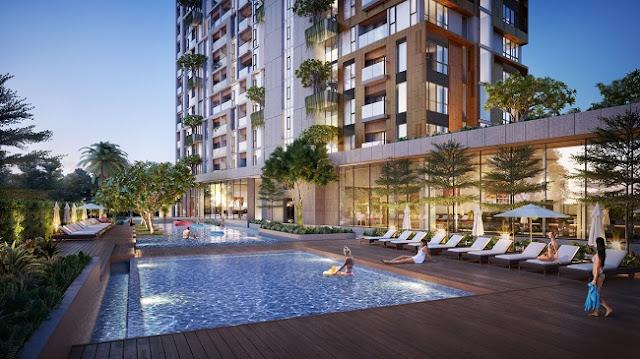 Bể bơi Condotel Cocobay Đà Nẵng