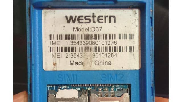 Western D37 Flash File 6531E Official Firmware 100% Tested